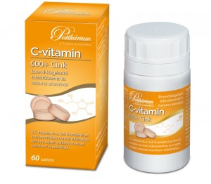 C-vitamin 600 + Cink