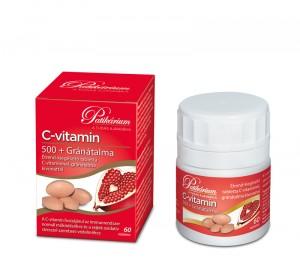 C-vitamin 500+ Gránátalma