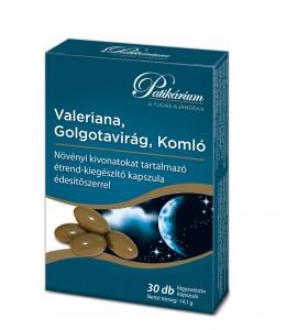 Valeriana, Golgotavirág, Komló